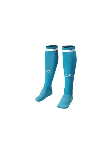 Lescon Lescon La2172 4045 Numara Futbol Çorabı Mavi